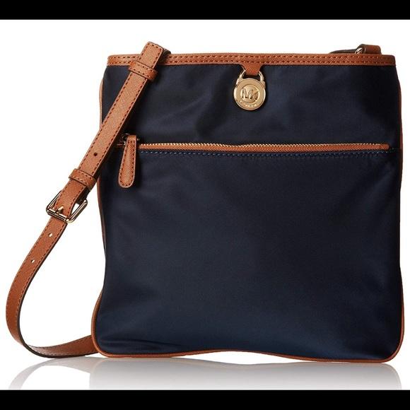 362531c500ed21 Michael Kors Bags | Nwt Kempton Large Nylon Crossbody | Poshmark
